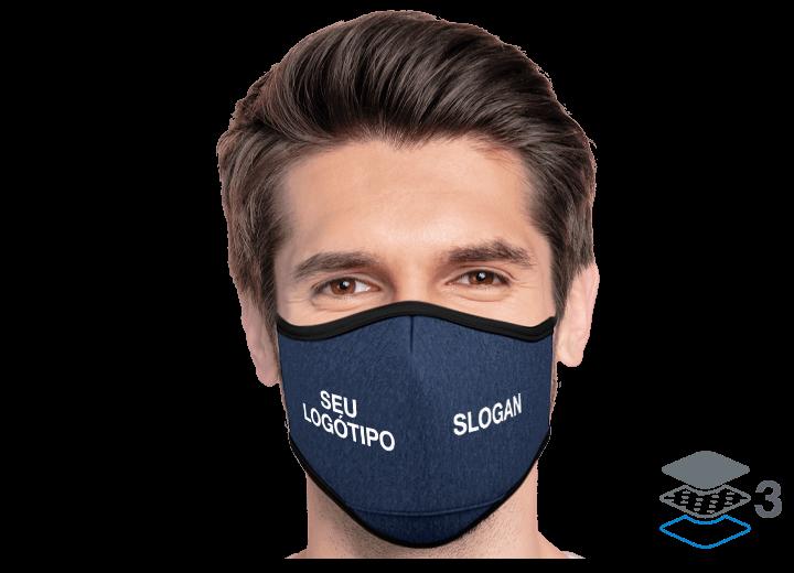 Denim - Máscaras de proteção personalizáveis