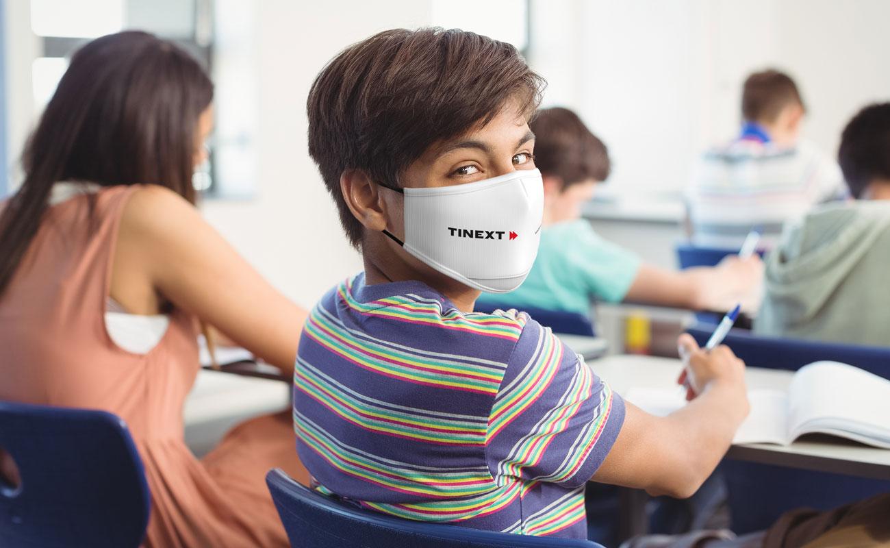 Junior - Máscaras reutilizáveis personalizadas