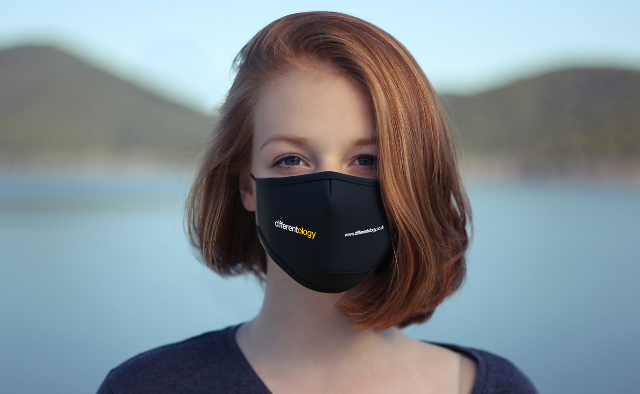 Junior - Máscaras reutilizáveis personalizáveis