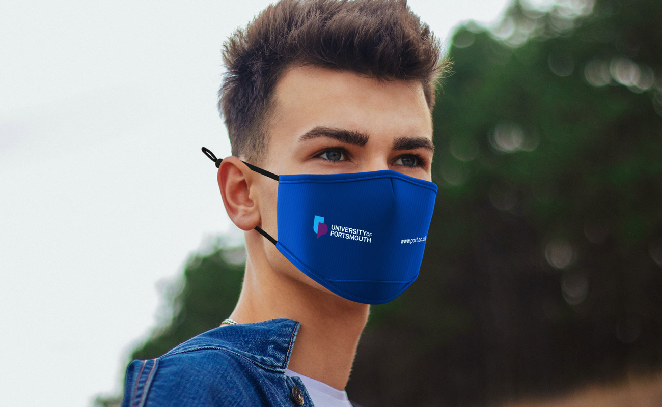 Junior - Máscaras impressas com logótipo