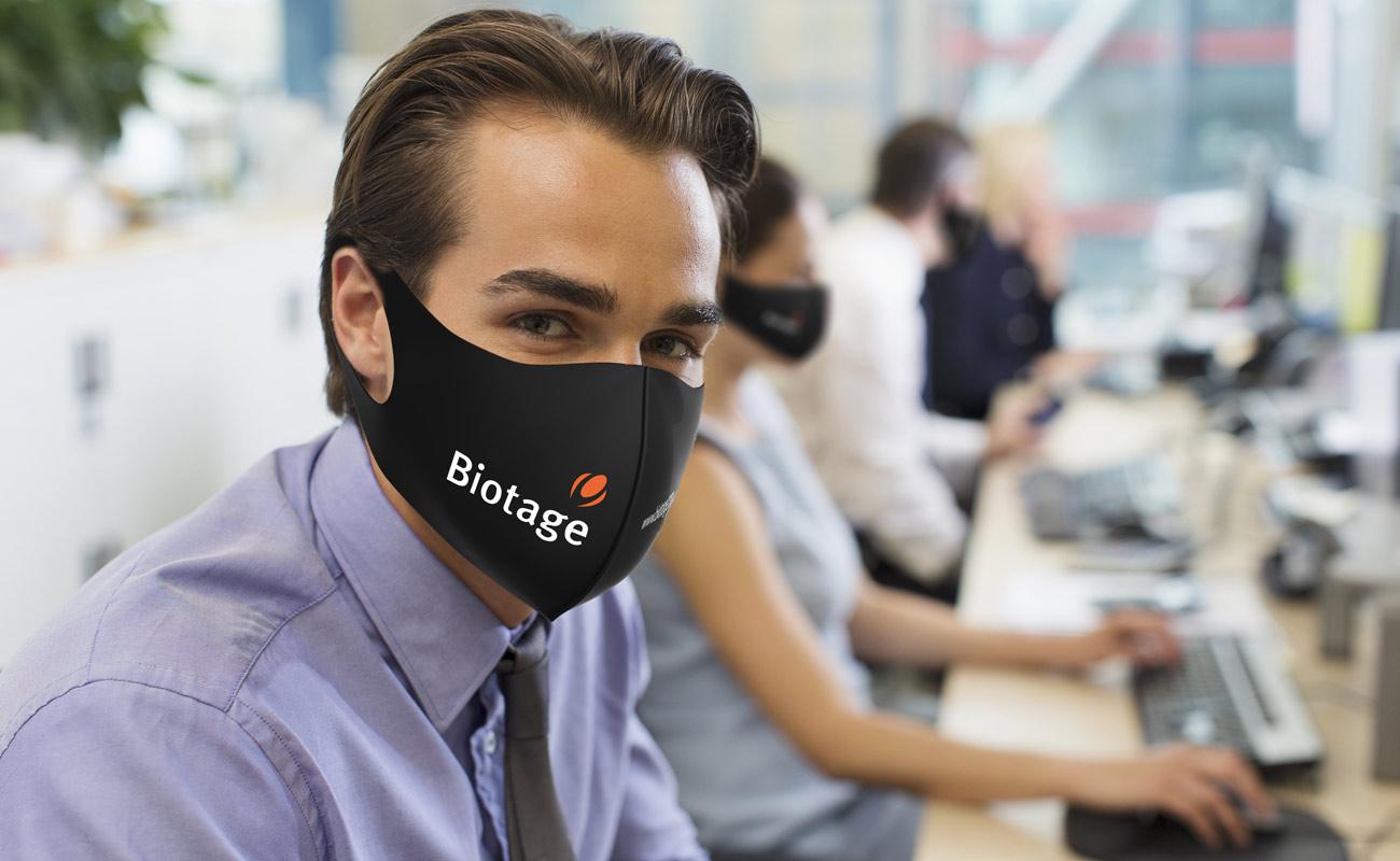 Neo - Máscaras reutilizáveis personalizadas
