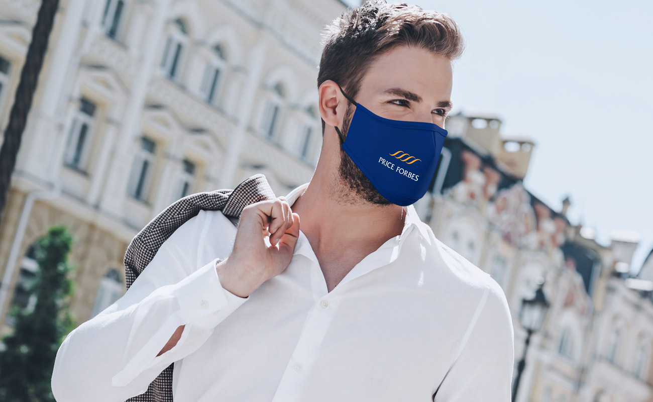 Sky - Máscaras reutilizáveis personalizadas