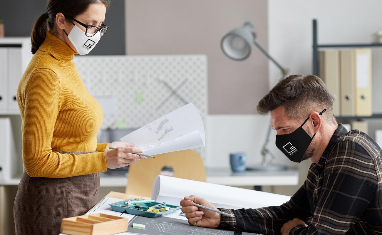 Sky Xtra - Máscaras reutilizáveis personalizáveis