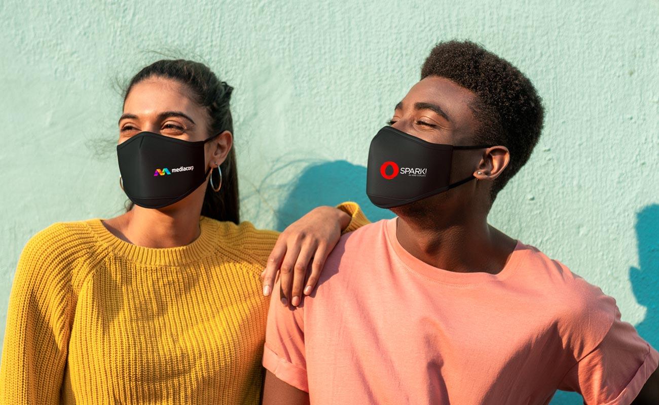Sky iON - Máscaras de proteção personalizáveis